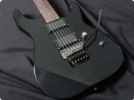 Esp Mii Neckthrough Kirk Hammett Kh Style! Emg Tone Black