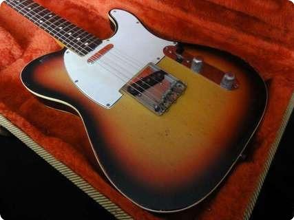 Fender Telecaster Custom 1960 Sunburst