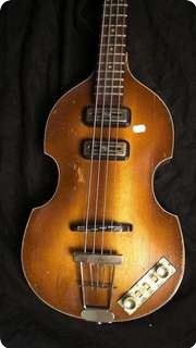 Hofner Viola Beatle Bass 1960 Brown Sunburst