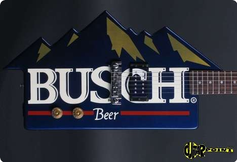 Dean Busch   Rocky Mountain  1985 Blue   Busch Graphic