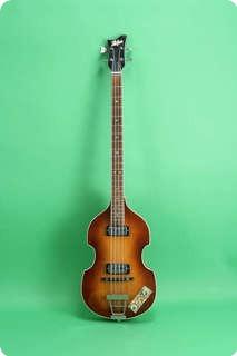 Hofner 500/1 Violin Beatle Bass  1966 Sunburst