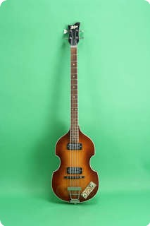 Hofner 500/1 Violin Beatle Bass  1966 Sunburst