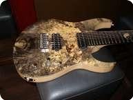 Keller Guitars Buckeye Burl 8string Custom 2013