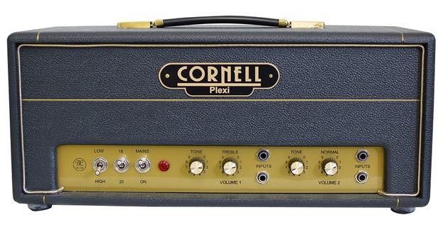 Cornell Plexi 18/20 Head Black