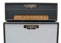 Cornell Plexi 4550 Head Black