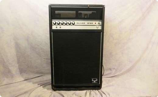 oliver sound b120 1972 black tolex amp for sale andy baxter bass guitars ltd. Black Bedroom Furniture Sets. Home Design Ideas