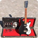 SilvertoneDanelectro Amp in Case 1962 BlackWhite