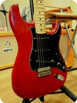 Fender Standard Stratocaster 1979 Wine Red