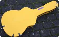 Calton 000 OM Case 2014 Yellow Blue