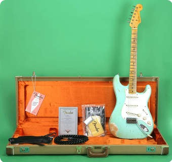 Fender 1956 Stratocaster Custom Shop Relic 2011 Surf Green