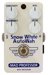 Mad Professor Snow White Auto Wah White