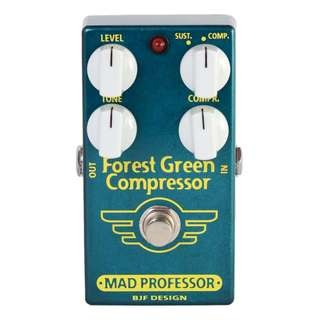 Mad Professor Forest Green Compressor Green