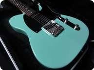Jeromes Custom Guitars Telecaster Handbuilt Van Zandt Pups 2013 Surf Green
