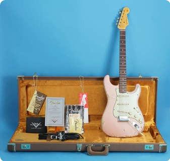 Fender 1962 Stratocaster Heavy Relic Custom Shop 2009 Shell Pink