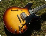 Gibson ES335 1962 Sunburst