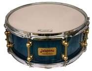Jalapeno Drums 14x6 Blue Burst Lacquered