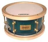 Jalapeno Drums 12x7 Classic With Vintage Birch Hoops Blue