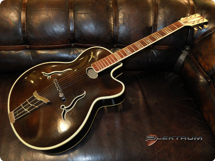 Hofner 461 S Jazz Guitar 1955 Black / Brown