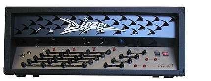 Diezel Amplification Vh4s Stereo Model Black