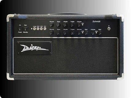 Diezel Amplification Schmidt Black/white