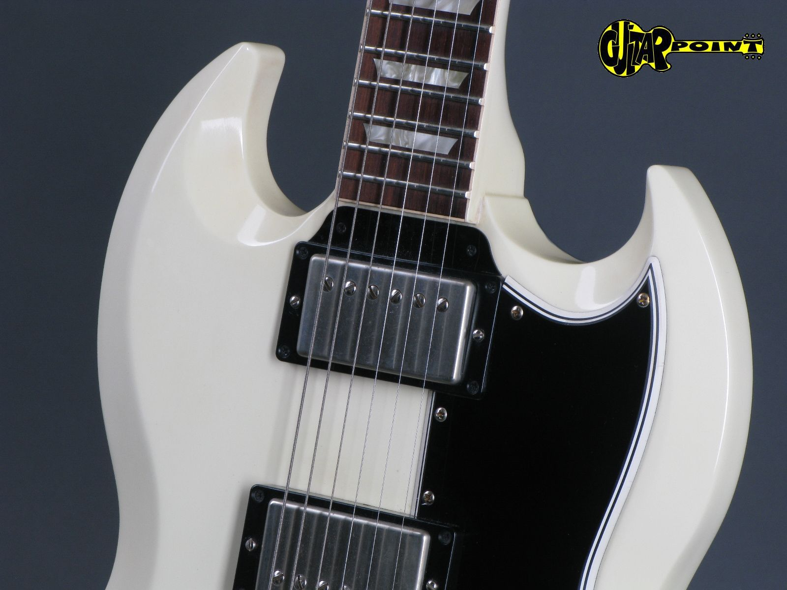 gibson historic custom shop sg standard vos 2007 classic white guitar for sale guitarpoint. Black Bedroom Furniture Sets. Home Design Ideas
