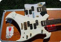 Warwick John Entwistles White Warwick Buzzard Bass 1990 White