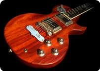 Teye Guitars La Gitana 2014 Reddish brown Stained Mahogany