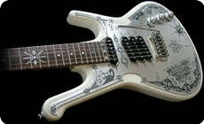 Teye Guitars Gypsy Queen La Estrella 2014 White
