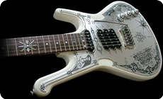 Teye Guitars Gypsy Queen La Estrella 2014 White