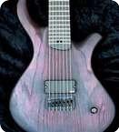 PMC Guitars Blast 7 2014 Black Red Tung Oil