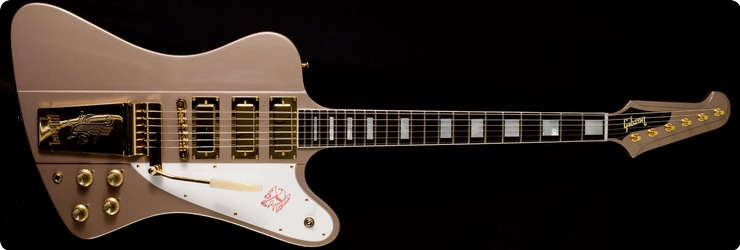 Gibson   Custom Shop Firebird Vii 1965 20th Anniversary 2014 Golden Mist