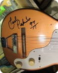 Harmony Stratatone Signed By Carl Perkins 1959 Bronze