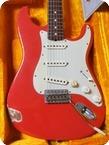 Fender Stratocaster 1960 Cunetto Relic John Cruz Custom Shop 1997 Fiesta Red