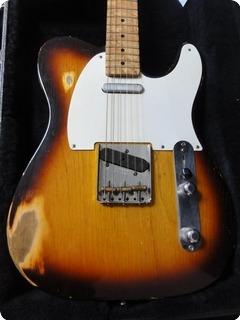 Fender Telecaster 1958 Cunetto Relic John Cruz Custom Shop! 1997 Sunburst