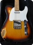 Fender Telecaster 1958 Cunetto Relic John Cruz Custom Shop 1997 Sunburst