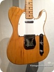 Fender Telecaster 1975 Natural