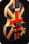 Hfner Guitars Violin Bass Paul McCartney 2014 Union Jack