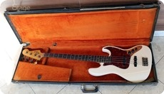 Fender Jazz Bass 1963 Olympic White Refinished