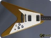 Gibson Flying V 1980 Gold