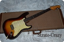 Fender USA Stratocaster 1962 Three Tone Sunburst