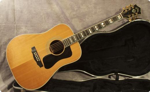 Guild D55 1975 Natural / Spruce Guitar For Sale Andy Baxter