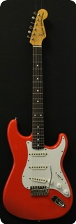 Squier By Fender Stratocaster  1983 Fiesta Red