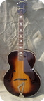 Gretsch Syncomatic 100 Model 6014 1940 Sunburst