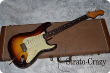 Fender USA Stratocaster 1961 Three Tone Sunburst
