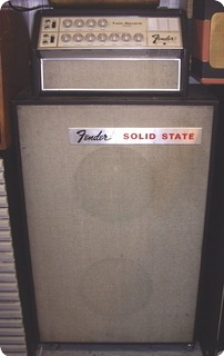 Fender Twin Reverb Solid State 1969