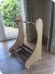 Stand Made For 3 Guitars 2014 Natural Light Oak