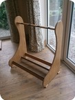 Stand Made For 4 Guitars 2014 Natural Light Oak