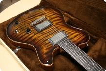 Nik Huber Guitars Nik Huber Redwood Exceptionel Onepiece Top 2014 Tigereye Burst