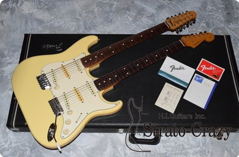 Fender Double Neck Stratocaster Stw 230
