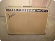 Fender TWIN AMP 1962 BLOND TOLEX